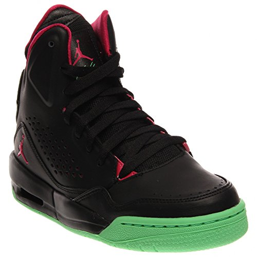 Nike Jordan Sc-3 Gg Ungdomstränare 630611 Gymnastikskor Svart / Ljus Klarsynt Grön / Levande Rosa