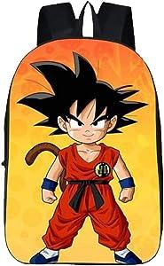 Weeck Children's Dragon Ball Z Goku Cosplay Backpack Bookbag Laptop Bag School Bag (5)