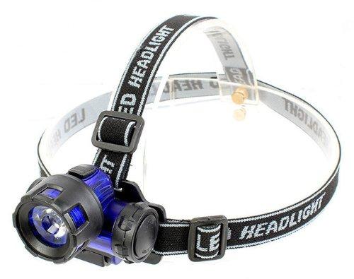 SMAKN/® NEW Blue lumen 3W LED Headlamp Fishing Head light Head Torch Flashlight