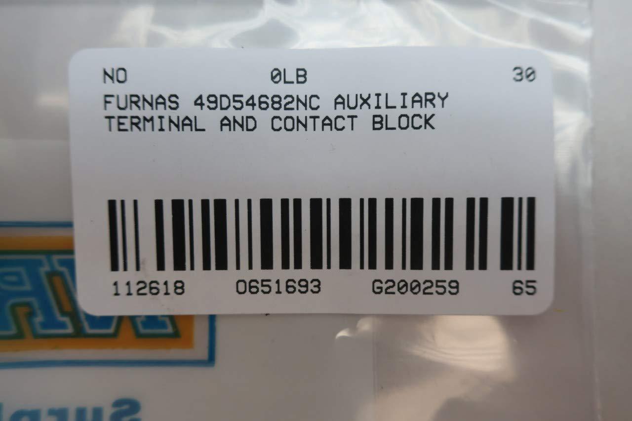 FURNAS 49D54682NC Auxiliary Contact Block D651693
