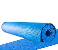 Fitnessmatte / Yogamatte für angenehmes und gelenkschonendes Training (dünn &...
