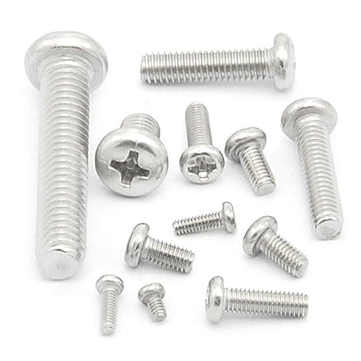 MUCHAO Tornillos de dientes de máquina de acero inoxidable ...