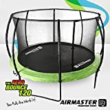 Airmaster® Premium Outdoor Trampoline Set 8ft 10ft 12ft 14ft with Safety Enclosure Pad Ladder