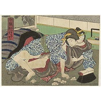 Erotica; Japanese Shunga; Rokugatsu The Sixth Month Anonymous 1835-1845