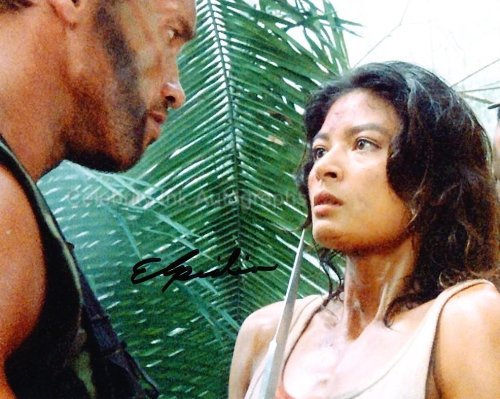 ELPIDIA CARRILLO as Anna - Predator Genuine Autograph from Celebrity Ink