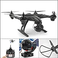 Leewa@ JXD 5.8G Wifi FPV 2.4G 6-Axis 4Ch Drone With 2.0MP HD Camera RC Quadcopter -Black