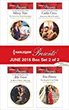 Harlequin Presents June 2016 - Box Set 2 of 2: The Greek's Nine-Month Redemption\An Heir to Make a Marriage\Expecting a Royal Scandal\The Surprise Conti Child (One Night With Consequences)