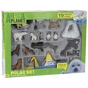 Amazon Com Animal Planet Playset Polar Playset Polar