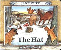 Image result for the hat by jan brett