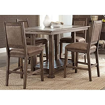 Counter Height Table In Formal Dining Room Dining Room