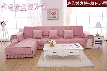 1PC Stretch Furniture Covers Sofa Cover Flannel Slipcovers for One ...
