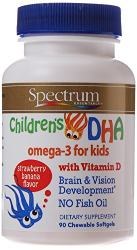 Spectrum Essentials Childrens Chewable Softgels