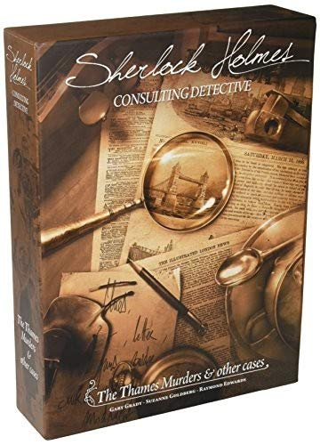 Sherlock Holmes: The Thames Murders & Other Cases (Sherlock Holmes Consulting Detective Board Game Review)