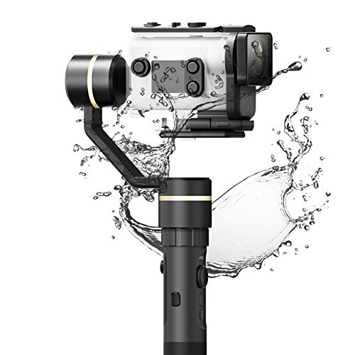 FeiyuTech G5GS 3-Axis Handheld Gimble Splash Proof Stabilizer for SONY AS50/FDR-X3000 and 130g-200g SONY camera by FeiyuTech