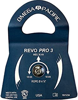 """product image for Omega Pacific Omega Revo Pro 3"""" Pulley NFPA OPPLREVO3"""