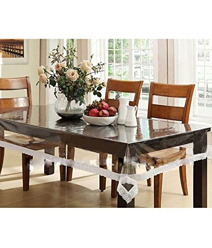 Buy Zesture Bring Home Transparent Dining Table Cover Online At Low Prices In India