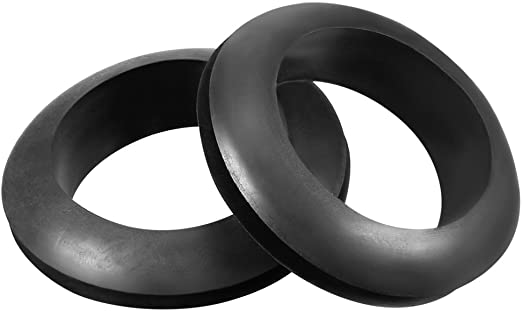 15Pcs 30mm Inner Dia Double Sides Rubber Cable Wiring Grommets Gasket Ring