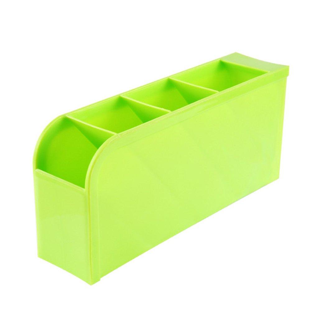 JUNGEN Bleistift Halter Aufbewahrungsbox Kreative Stifte Storagebox Schreibwaren Aufbewahrungs Box Pen Holder f/ür B/üro Schreibtisch,Gr/ün