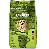 Lavazza Organic Tierra! Italian Roast 2.2 Pound Whole Bean Coffee Blend