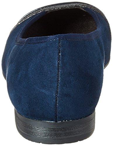 Blu Softline Ballerine Navy 22165 Donna wxg6q41