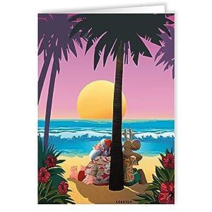 51qMZyeA5SL._SS300_ Beach Christmas Cards and Nautical Christmas Cards