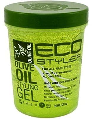 ECOCO Eco Style Gel, Olive 32 oz