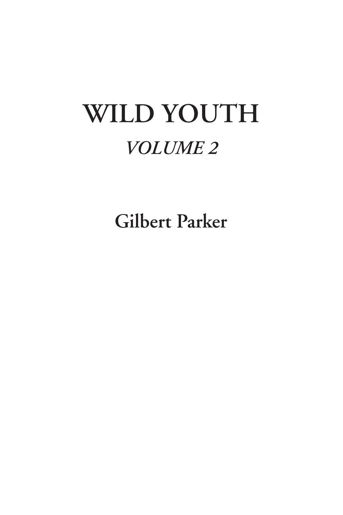 Wild Youth, Volume 2 pdf epub