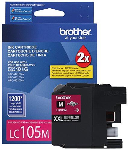 Brother Printer LC105M Cartridge Magenta