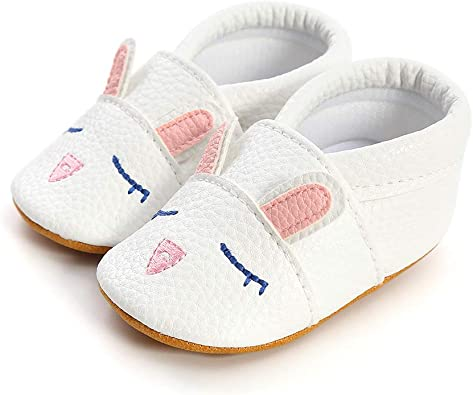 CLOUCKY Soft Sole Baby Boys Girls Shoes