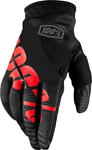 100% I-Track Youth Boys' Off-Road Gloves - Black/Camo / Medium Single Track Cycling Gloves