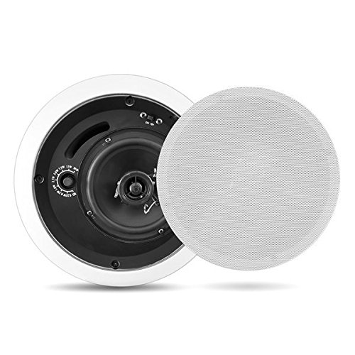 Pyle Home PDPC8T In-Ceiling Enclosed Speaker System with Transformer by Pyle