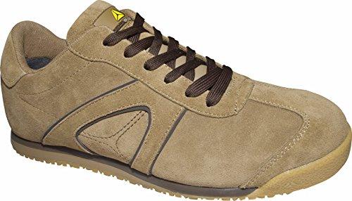 Delta plus calzado - Juego zapato piel serraje beige talla 45(1 par)