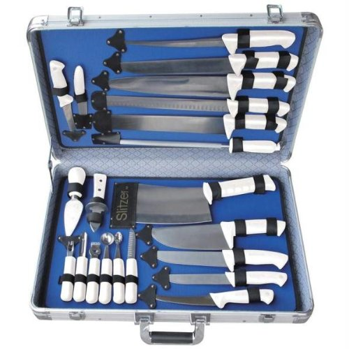 Slitzer CTCASEW 22 Piece Professional Cutlery Set in Case