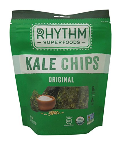 Rhythm Superfoods Organic Kale Chips, Original, 2 oz by Rhythm Superfoods