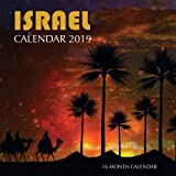 Israel Calendar 2019: 16 Month Calendar