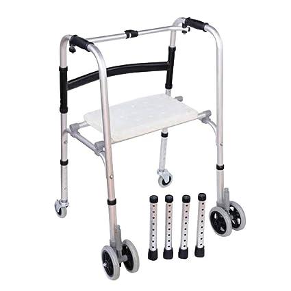 Andador para Ancianos | Aluminio Ultraligero | Regulable en Altura ...