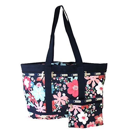 LeSportsac Classic Large Travel Tote Weekender, Joyful Floral S