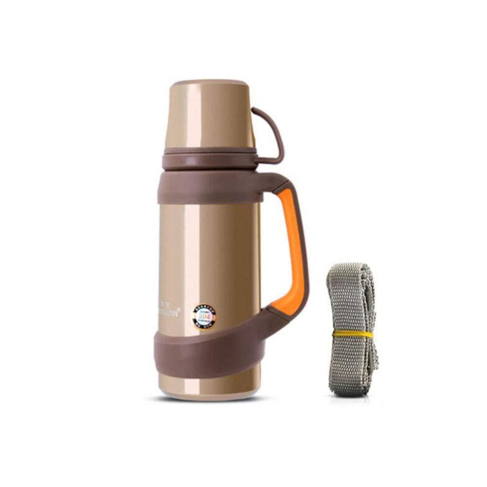 F & H FH Thermos Edelstahl Isolierung Topf Outdoor Sports Wasserflasche Wasser Tasse Haushalt Thermos
