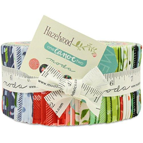 Moda Fabric Strips - 5