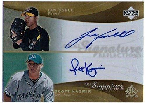 - IAN SNELL SCOTT KAZMIR 2005 Dual Signature Reflections Autograph Card AUTO