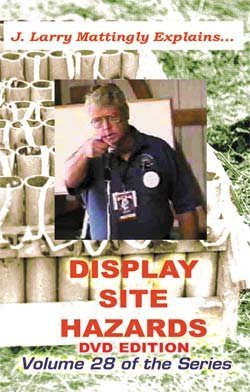 Professional Pyrotechnics Display Site Hazards