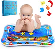 HozHoy Tummy Time Mat, Baby Water Mat, Infant Toy Inflatable Play Mat for 3-12 Months Newborn Boy Girl