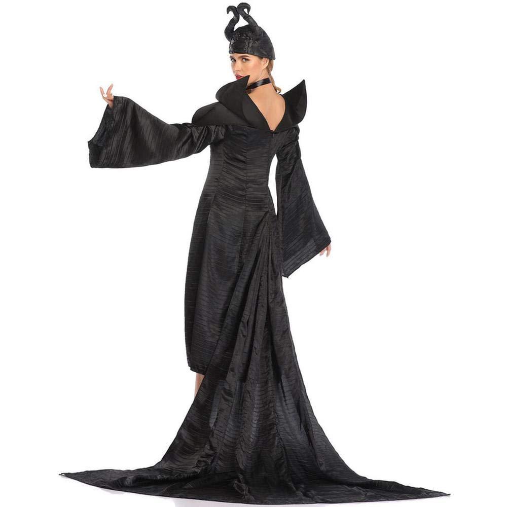 Traje De Halloween Cosplay Vestido De La Bruja Maléfica ...