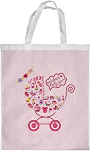 New Baby Printed Shopping bag, Small Size