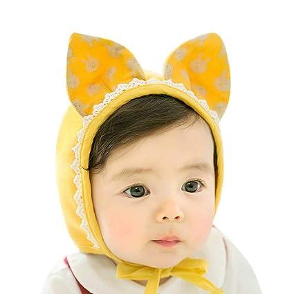 3e29c9f52e67f AOLVO - Gorro de Invierno para bebé con Gorro de Invierno y Orejas de Conejo  100