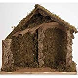 Fontanini 12'' Mossy Italian Style Religious Christmas Nativity Stable #50909