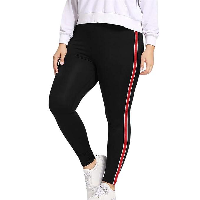 cinnamou Pantalon Yoga Mujer, Tallas Grandes Lentejuelas ...
