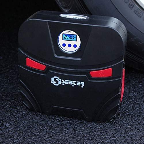Mei Xu 車の空気圧縮機 - 車のボートのベッドの付属品のための車の膨脹可能なポンプ12V電子表示装置タイヤのインフレーターの自動車空気圧縮機ポンプLED