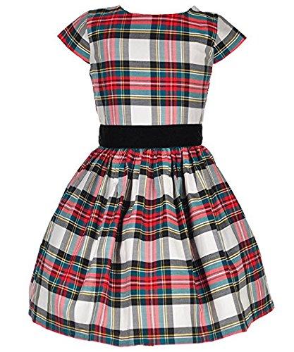 7 2T Tartan Girls' Plaid Carter's Dress 8 7RxC4qWwa