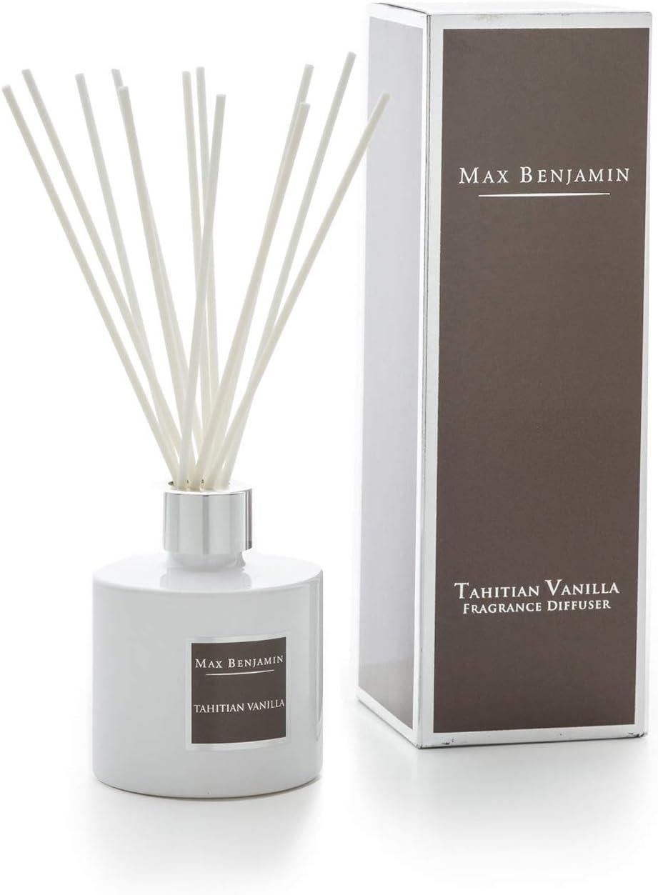 Max Benjamin Set 4 X Fragrance Diffuser Tahitian Vanilla 150 Ml